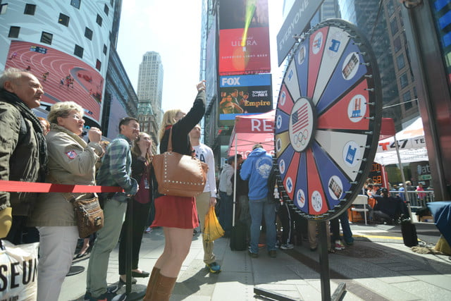 road to rio new york city spin the wheel 1