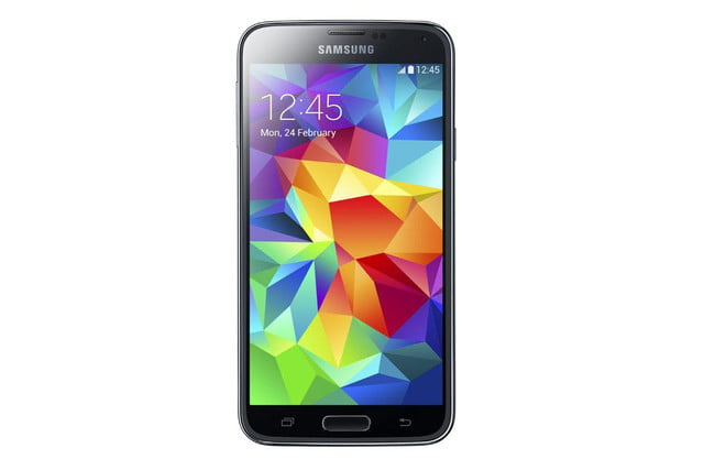 galaxy s5 makes debut samsung unpacked event mwc 2014 black 3
