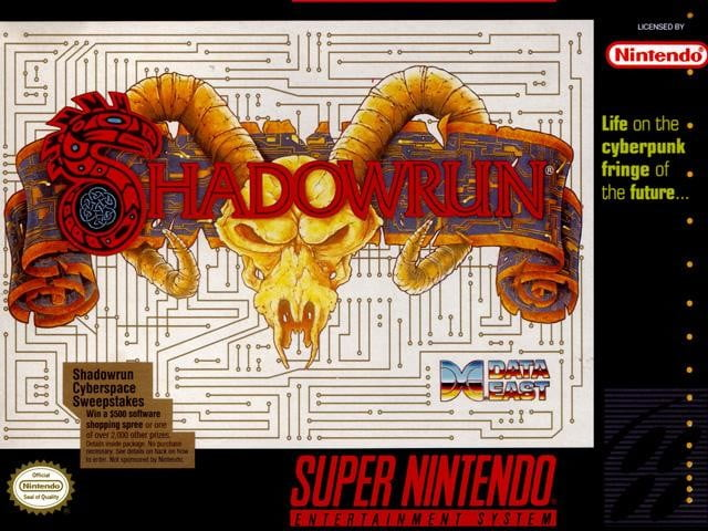 best snes games shadowrun
