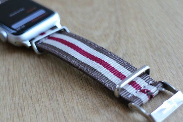 best Apple Watch bands Southern Straps Nato Strap buckle