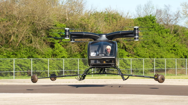 surefly hybrid air taxi hover 1