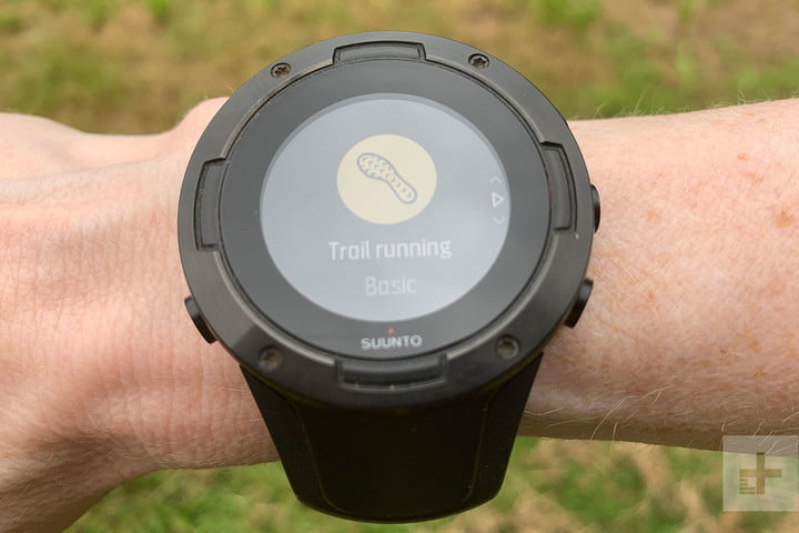 The Suunto 5 sports watch looks durable, but the display doesn't hold up