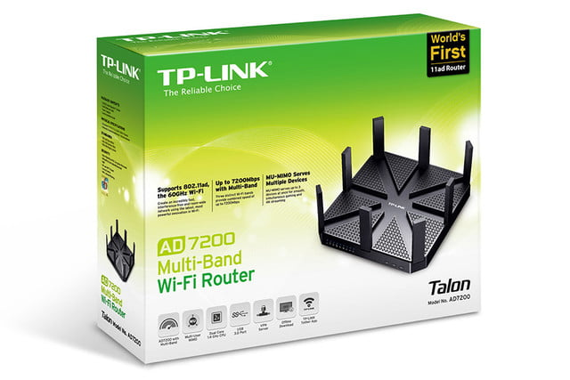 tp links talon router boasts eight antennas and is the first with 802 11ad wi fi 05