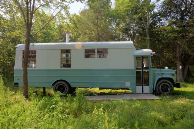 coolest bus to mobile home conversions thomasschoolbus