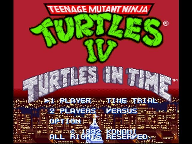 best snes games tmnt4