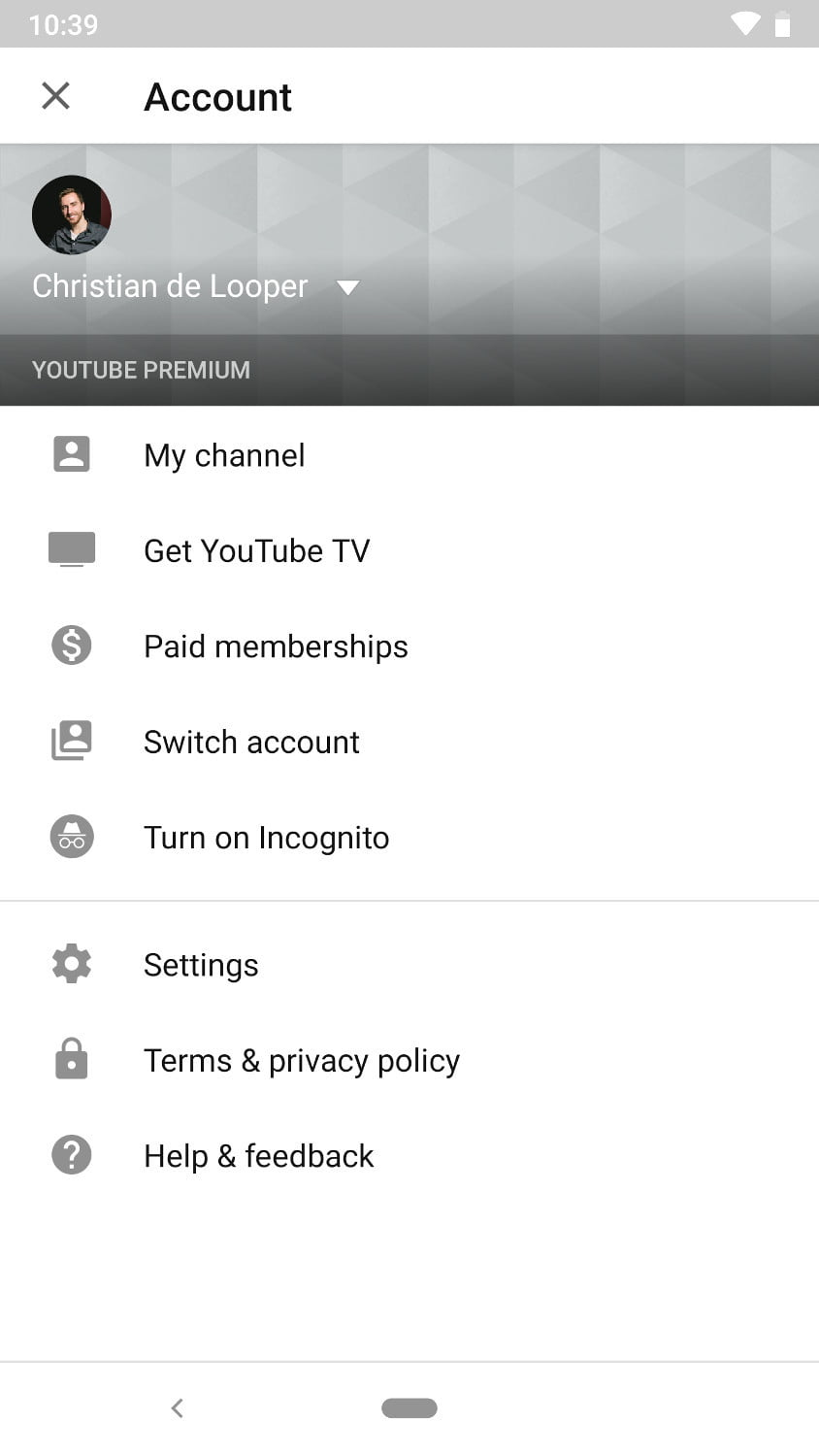 How To Use YouTube's Incognito Mode In The Android App