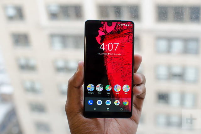 revision essential phone ph 1 front window