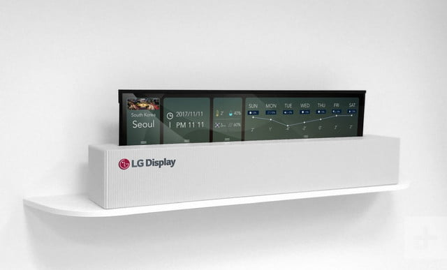 LG OLED Rollable TV