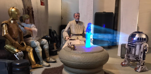 star wars recrean con juguetes 10