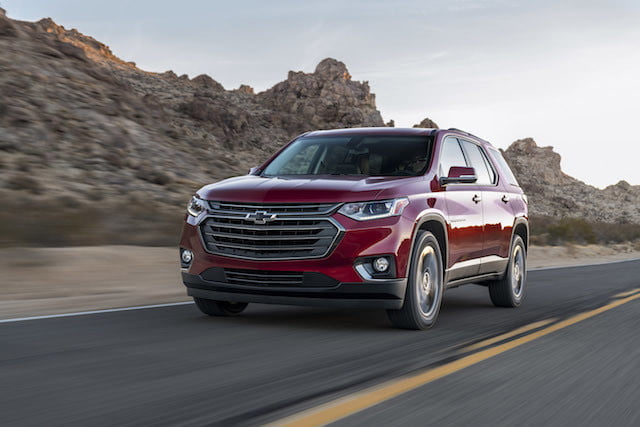 chevy traverse rs turbo chevrolet 2018 1