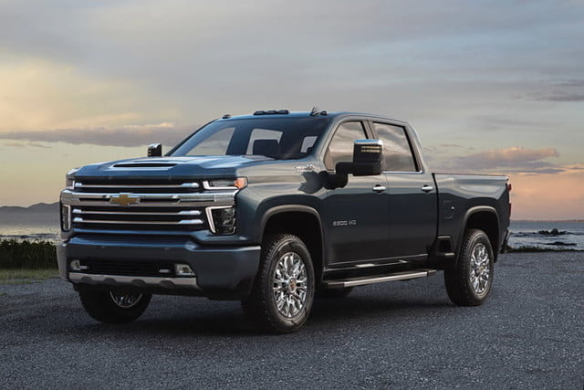 chevrolet silverado hd 2020 2 the high country is one of five trim levels for all new each offering a different level design