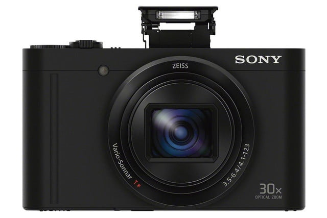 sony shows off engineering magic squeezes 30x lens and evf into compact camera dsc wx500 black flash 1200