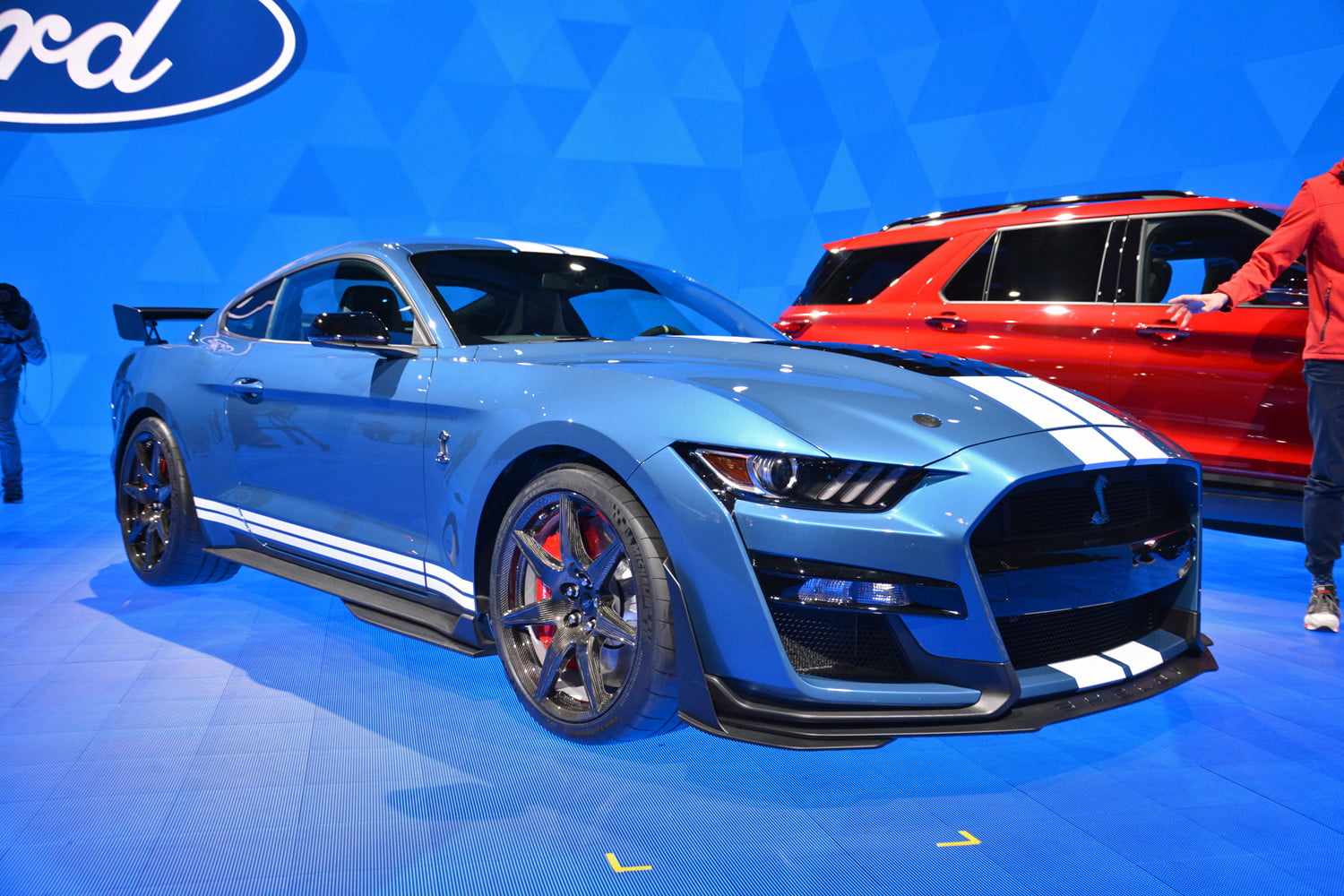 2020 ford mustang shelby gt500 debuts at 2019 detroit auto show