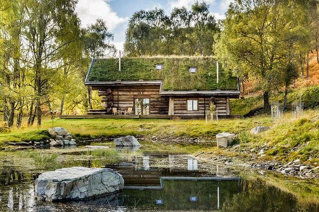 retreat from society and relax in these idyllic cabins around the world eagle brae highland log 10