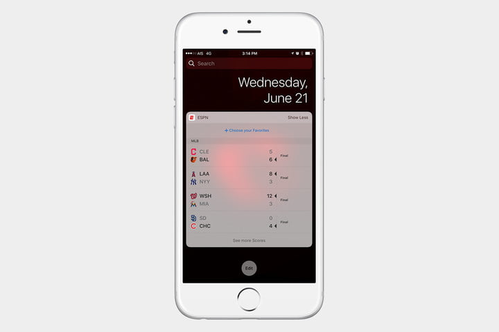 The best ios 10 widgets for your iphone or ipad digital trends best ios 10 widgets espn gumiabroncs Images