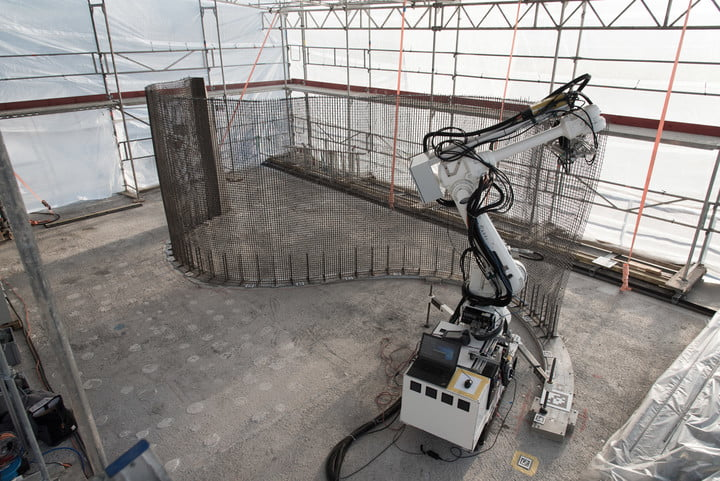 Researchers are using 3D printing and robots to design, plan, and build a house