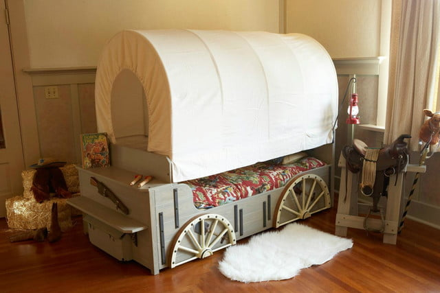 fable bedworks amazing kids beds cost more than a car etsy chuckwagon bed