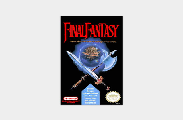 best nes games ever final fantasy cover