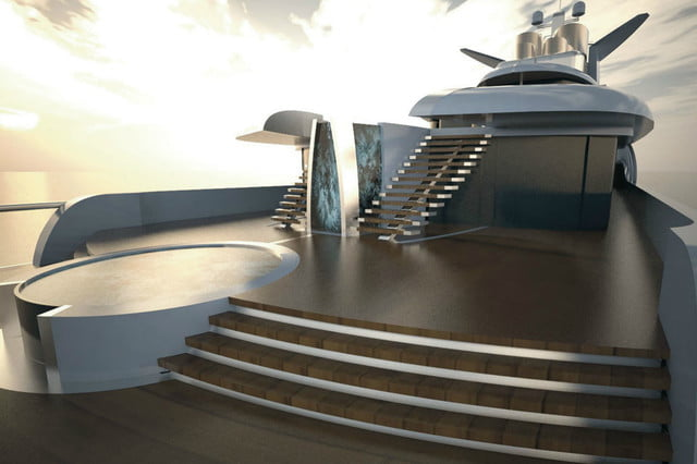 luxury yachts the worlds best super fincantieri fortissimo aft deck