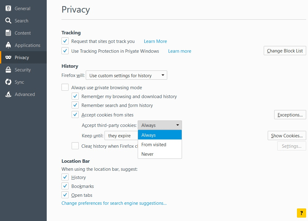 firefoxprivacy