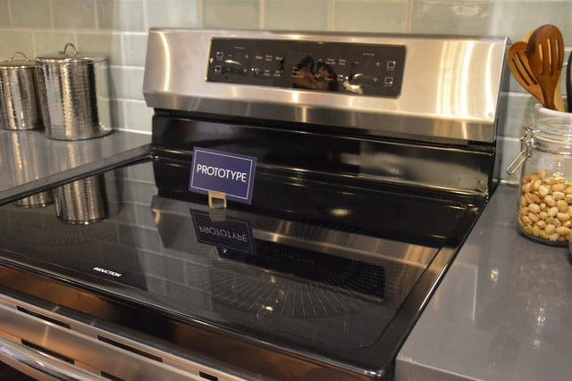 appliance trends kbis 2017 frigidaire induction range stainless steel