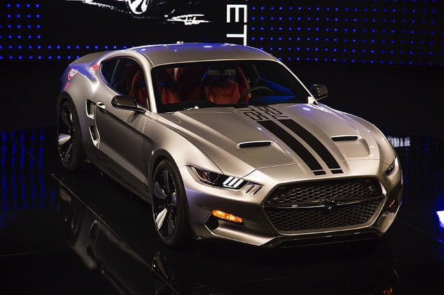 galpin auto sports unveils first production rocket mustang galpinrocket exterior 01