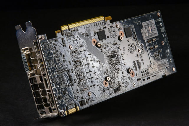 Nvidia GTX 960 video card circuits