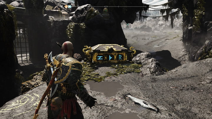 god of war nornir chests collectibles guide 22 cliffs of the raven 1