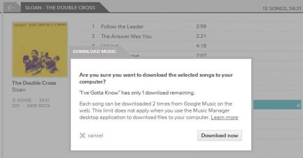 Google Music Manager: A frustrating way to download your music