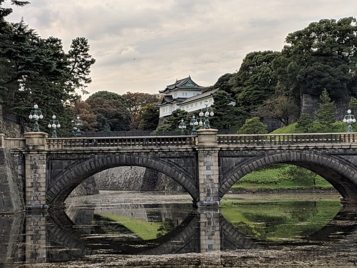 Google Pixel 3 Optical zoom vs. Digital zoom: Imperial Palace