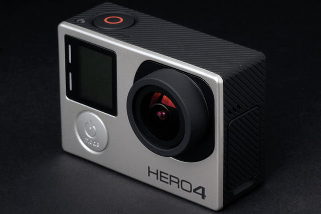 GoPro Hero 4 BLACK front top angle