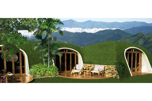 green magic homes are prefab houses covered in plants 0034