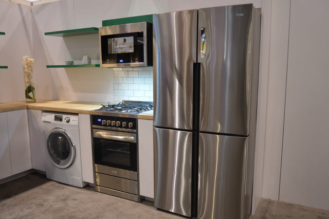 appliance trends kbis 2017 haier 24 inch washer dryer combo