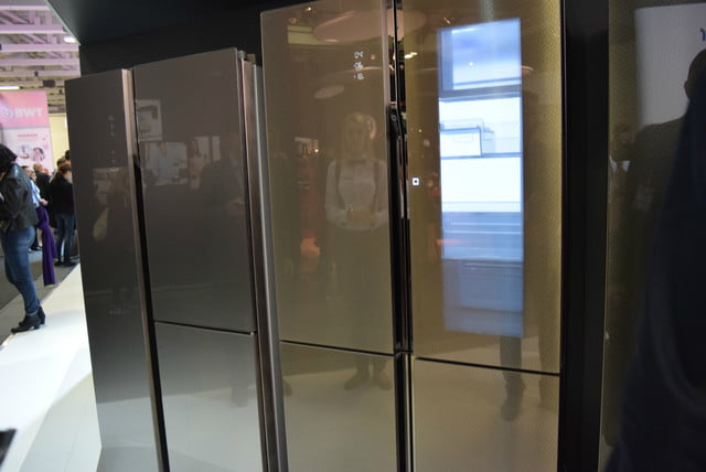 bekos homecream fridge has a built in ice cream maker haier smart window 6