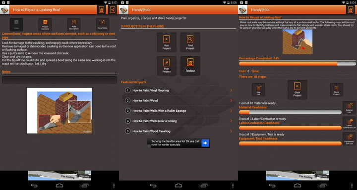 Handymobi app inspires and enables diy home improvement projects theres a new mobile app to help home improvement buffs who prefer a visual learning style to help them with their do it yourself projects solutioingenieria Images