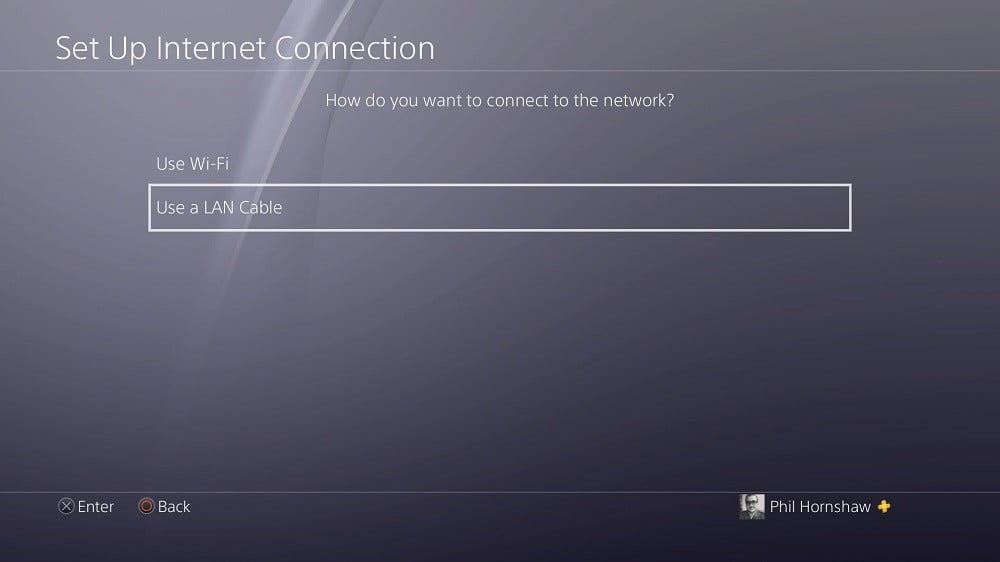 how to use vpn on ps4 playstation 4 setup internet connection