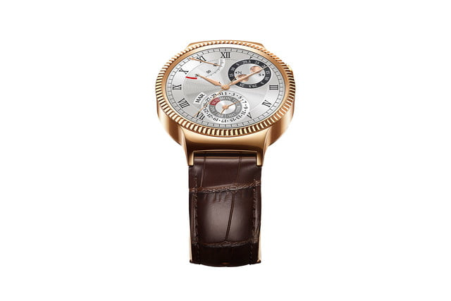 huawei watch news gold leather elevation