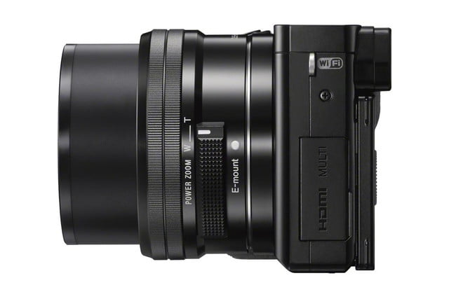 sony unveils alpha a6000 mirrorless camera ilce 6000 wselp1650 leftside zoom black 1200