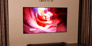 LG Signature OLED65W7P W7 Wallpaper OLED TV Review | Digital Trends