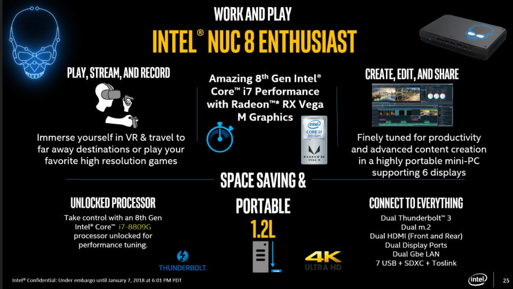 intel nuc sports amd integrated graphics intelnuc8