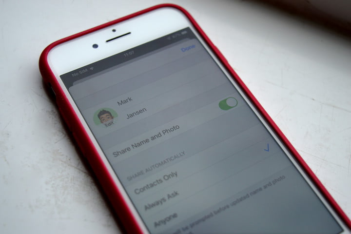 How to set an iMessage profile picture and name in iOS 13