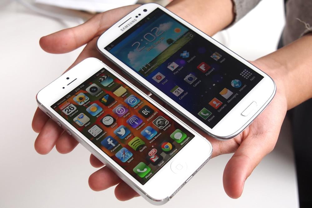 Apple iPhone 5 vs. Samsung Galaxy S3: In-depth comparison ...