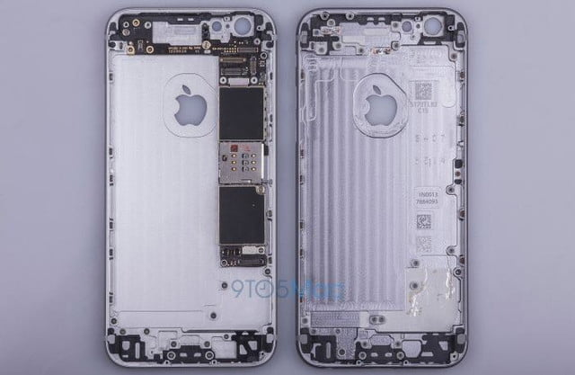 say hello to the iphone 6s leaked images of metal frame reveal no changes chassis 02