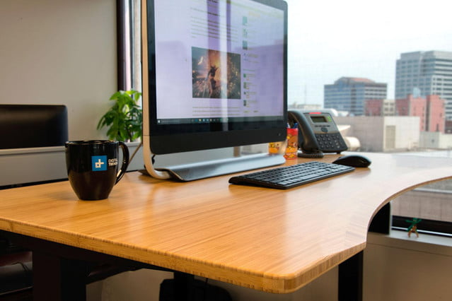 and ultra quiet, the Jarvis standing desk rises above competitors