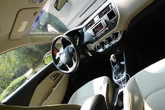 2012 kia rio review interior drivers from back