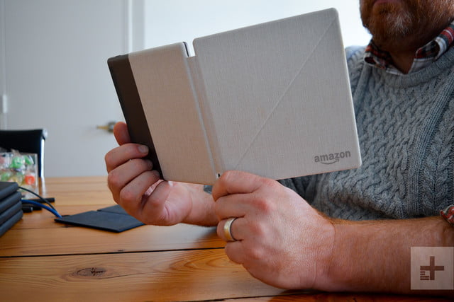 amazin kindle oasis review (2017) reading