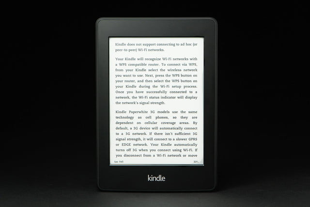 Kindle Paper White front wifi