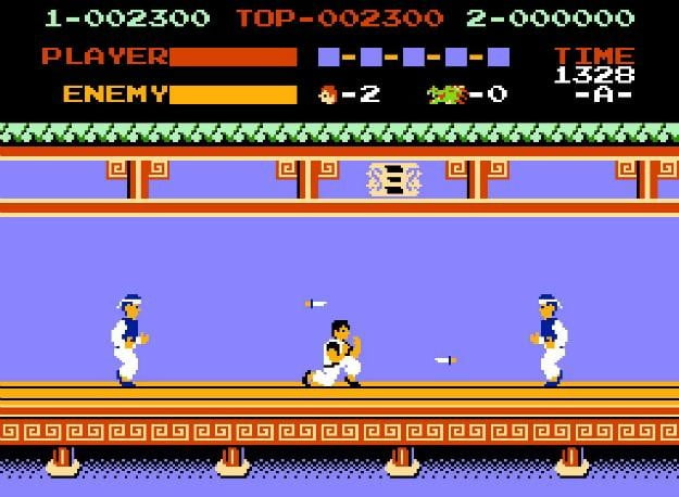 best nes games ever kung fu
