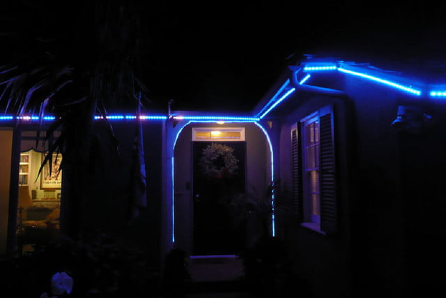Blue Led Outdoor Christmas Lights