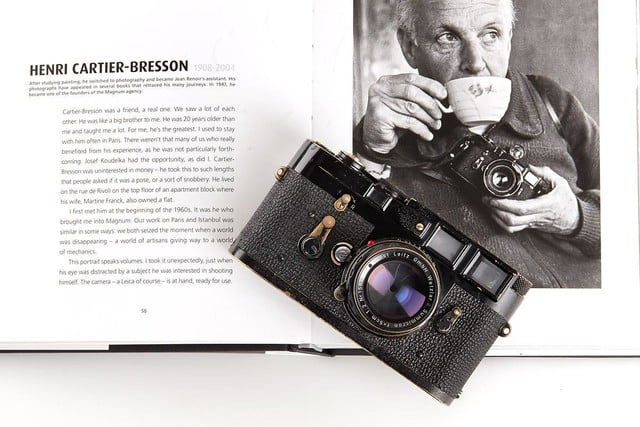 100 years leica auction marks renown camera makers anniversary rare items m3 henri cartier bresson